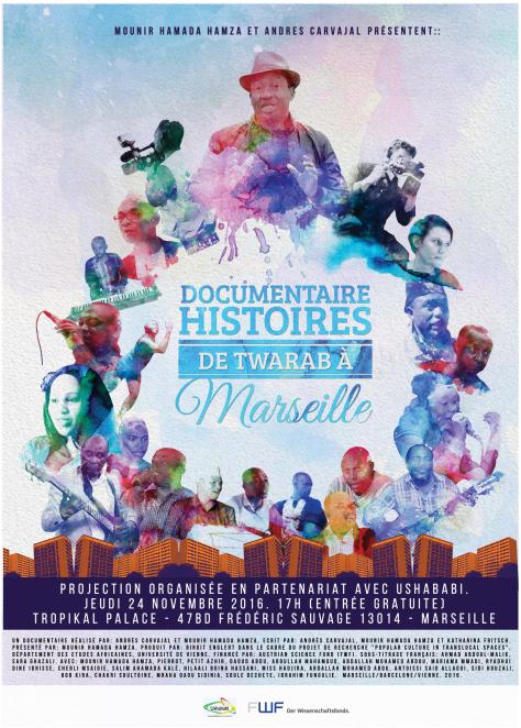 Histoires de twarab à Marseille