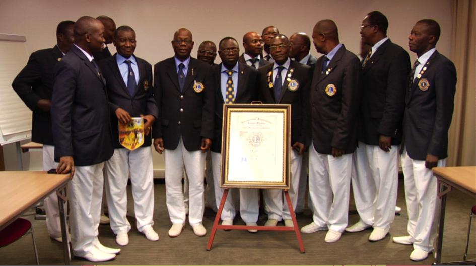Cotonou Nokoue devant sa charte (2014)